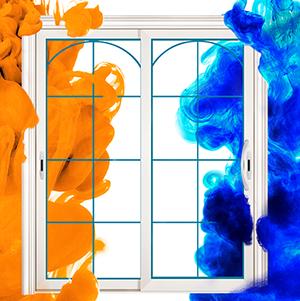 色彩迸進極簡家居紳活,2018卡迪夫推拉門系列